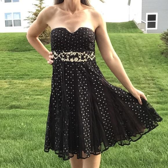 Anthropologie Dresses & Skirts - anthropologie LITHE champagne cocktail dress 8 (B3